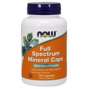 NOW Foods  Full Spectrum Minerals ( 120 kap)