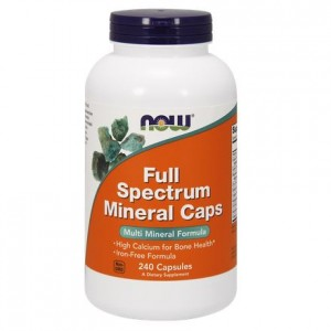 NOW Foods  Full Spectrum Minerals ( 240 kap)