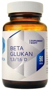 Hepatica  Beta Glukan 1,3/1,6 D (90 kap)