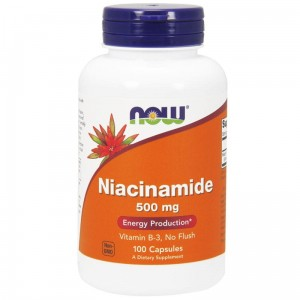NOW Foods  Niacinamide 500 mg (100 kap)