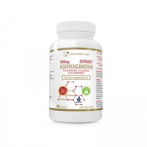 Progress Labs Ashwagandha Ekstrakt 600mg ( 90 kap)