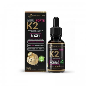 Progress labs  Witamina K2 MK-7 Z Natto Forte W Kroplach (30ml)