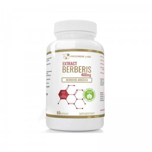 Progress Labs Berberis Aristata Berberyna  400mg (60 kap)