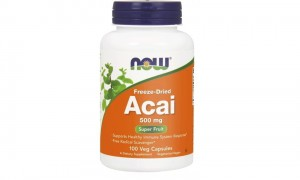 NOW Foods Acai 500 mg (100 kap)